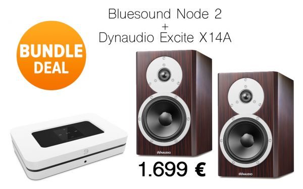 Bluesound Node 2 + Dynaudio Excite X14A